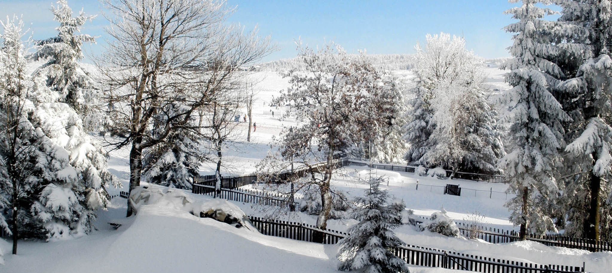 Výhled z apartmánu A8 - Nowako, směr Ježíškova cesta