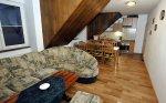 Obývací pokoj s kuchyní a jídelnou